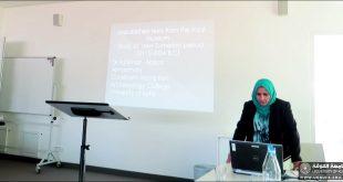 الدكتورة فاطمة المعموري عضو دائم في هيئة تحرير مجلة منبر التراث الاثري