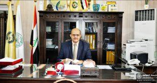 السيد عميد كليتنا يشارك بالاجتماع الافتراضي للجنة العلمية لمؤتمر الكفيل